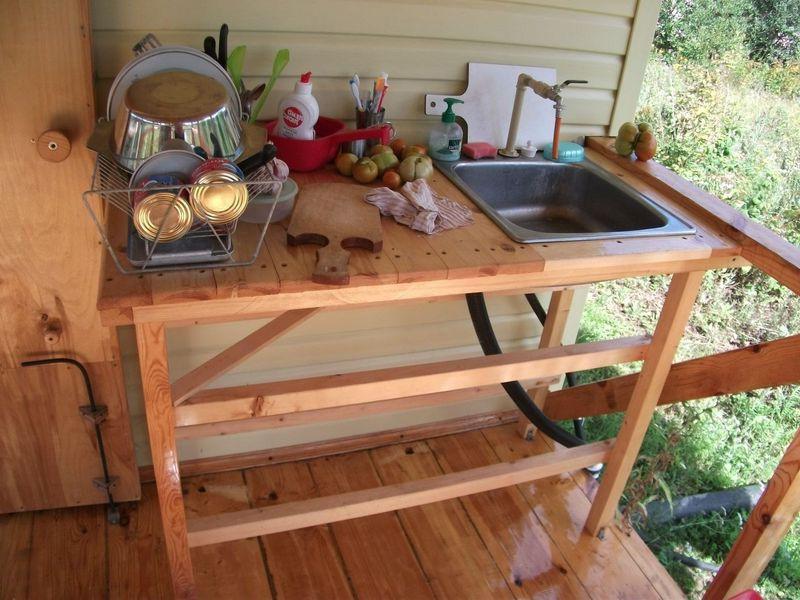 Мебель для летней кухни своими руками фото 15